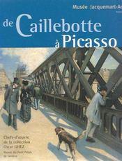 De Caillebotte A Picasso - Intérieur - Format classique