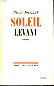 Soleil Levant. - Couverture - Format classique