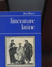 Litterature Latine - Couverture - Format classique