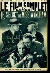 Le Film Complet Du Samedi N° 1682 - 14e Annee - Le Secret De Miss Wyndham - Couverture - Format classique