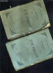 Le Juiff Errant - En 2 Tomes - Tomes 1 + 2 / Nouvelle Edition. - Couverture - Format classique