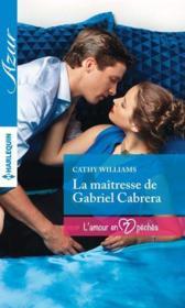 La maîtresse de Gabriel Cabrera - Couverture - Format classique