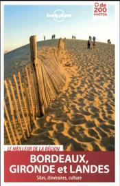 Bordeaux, Gironde et Landes (2e édition) - Couverture - Format classique