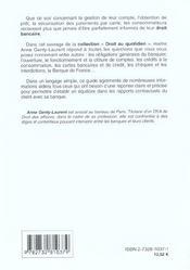 Droit Bancaire (Le) - 4ème de couverture - Format classique