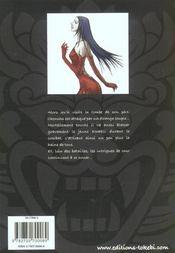 Chonchu t.2 - 4ème de couverture - Format classique