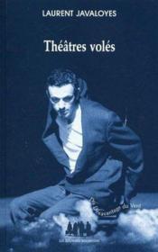 Théâtres volés - Couverture - Format classique