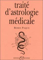 Traité d'astrologie medicale - Couverture - Format classique