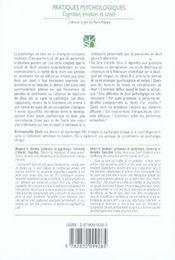 Psychologie du deuil ; impact et processus d'adaptation au décès d'un proche - 4ème de couverture - Format classique