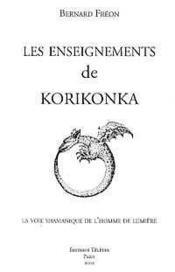 Les enseignements de Korikonka - Couverture - Format classique