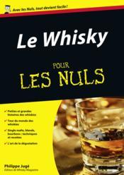 Le whisky pour les nuls - Couverture - Format classique