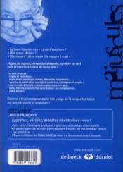 Majuscules, abréviations et symboles - 4ème de couverture - Format classique