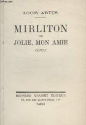 Mirliton Ou Jolie Mon Amie - Couverture - Format classique
