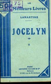 Jocelyn - Tome 2 - Couverture - Format classique