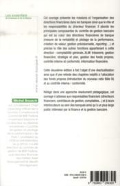 Finance et gestion dans la banque (2e édition) - 4ème de couverture - Format classique
