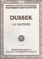 La Matinee. - Couverture - Format classique