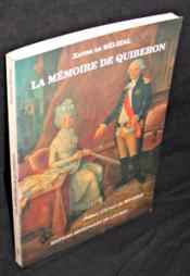 La Memoire De Quiberon, Histoire Et Documents 1795 - 1995 - Couverture - Format classique
