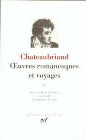 Oeuvres romanesques et voyages t.2 - Intérieur - Format classique