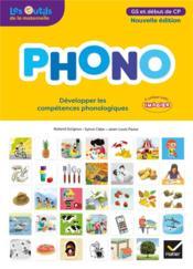 Phono ; GS ; guide pédagogique (édition 2018) - Couverture - Format classique