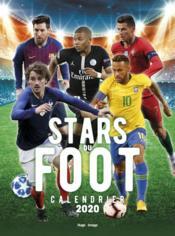 Calendrier mural stars du foot (édition 2020) - Couverture - Format classique