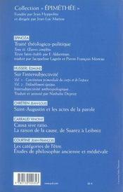 REVUE LES ETUDES PHILOSOPHIQUES N.2006/4 ; Hobbes et les néocontractualismes contemporains - 4ème de couverture - Format classique
