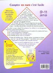 Calculer En Euro C'Est Facile - 4ème de couverture - Format classique