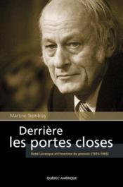 Derriere Les Portes Closes - Couverture - Format classique