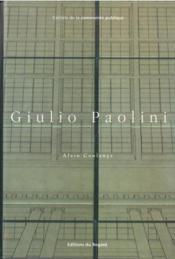 Paolini Giulio - Couverture - Format classique