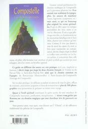 Compostelle, les chemins spirituels - 4ème de couverture - Format classique