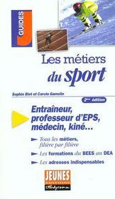 Metiers du sport (les) 2e edition - Intérieur - Format classique