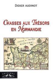 Chasses Aux Tresors En Normandie - Couverture - Format classique