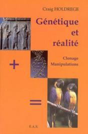 Genetique et realite - Couverture - Format classique
