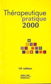 Thérapeutique pratique (édition 2000) - Intérieur - Format classique