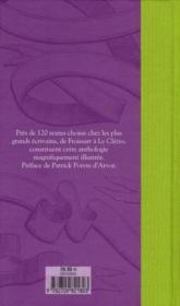Litterature francaise - 4ème de couverture - Format classique
