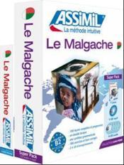 Le malgache ; débutants et faux-débutants B2 - Couverture - Format classique