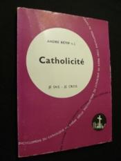 Catholicité - Couverture - Format classique