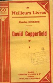 David Copperfield. Tome 1. Collection : Les Meilleurs Livres N° 125. - Couverture - Format classique