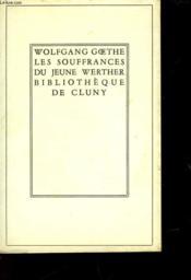 Les Souffrances Du Jeune Werther - Couverture - Format classique