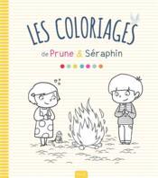 Les coloriages de Prune & Séraphin - Couverture - Format classique