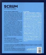 Scrum, de la théorie à la pratique (2e édition) - 4ème de couverture - Format classique