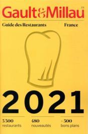 Guide des restaurants France (édition 2021) - Couverture - Format classique