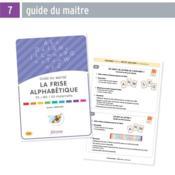 La frise alphabétique, PS, MS, GS maternelle : guide du maîte - Couverture - Format classique