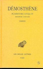Plaidoyers civils t.4 - Couverture - Format classique