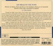 Les milles et une nuits t.2 - 4ème de couverture - Format classique