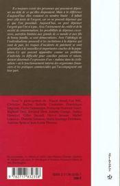 Le Surendettement Des Particuliers - 4ème de couverture - Format classique