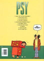 Les psy t.10 ; et à part ça - 4ème de couverture - Format classique
