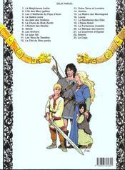Thorgal T.8 ; Alinoë - 4ème de couverture - Format classique