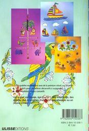 Mobiles multicolores en peinture vitrail - 4ème de couverture - Format classique