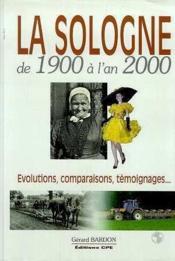 Sologne 1900 A L'An 2000 - Couverture - Format classique