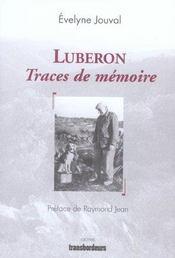 Luberon, traces de mémoire - Intérieur - Format classique