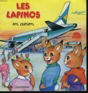 Les Lapinos en avion - Couverture - Format classique
